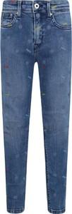 Niebieskie spodnie dziecięce Pepe Jeans