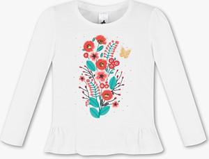 Koszulka dziecięca Palomino z bawełny z długim rękawem