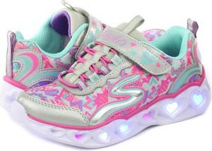 Buty sportowe dziecięce Skechers dla dziewczynek sznurowane