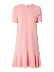 Sukienka Tommy Hilfiger w stylu casual mini z krótkim rękawem