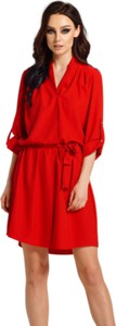 Sukienka Lemoniade mini wyszczuplająca z długim rękawem