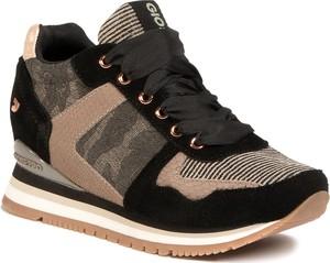 Buty sportowe GIOSEPPO ze skóry ekologicznej sznurowane