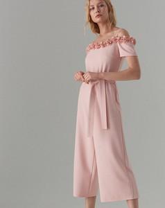 Różowy kombinezon Mohito z długimi nogawkami