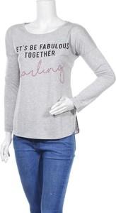 Bluzka miss goodlife w stylu casual z długim rękawem