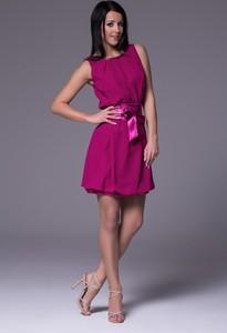 Różowa sukienka Nubile bombka