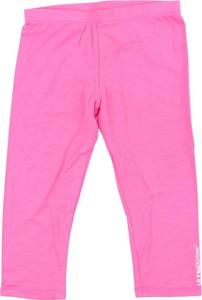 Różowe spodnie dziecięce Le Pandorine
