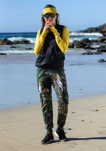 Spodnie sportowe Nessi Sportswear z dresówki