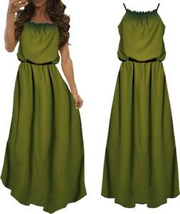 Zielone Sukienki Kolekcja Wiosna 2019