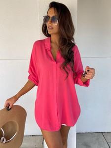 Różowa koszula Versada