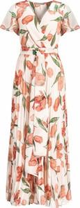 Sukienka Marella maxi z dekoltem w kształcie litery v