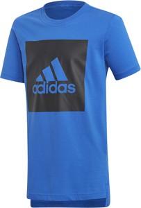 Niebieska koszulka dziecięca Adidas