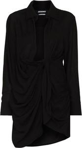 Czarna sukienka Jacquemus