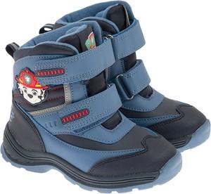 Buty dziecięce zimowe Cool Club dla chłopców na rzepy