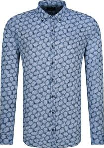 Koszula Joop! w młodzieżowym stylu z długim rękawem z lnu