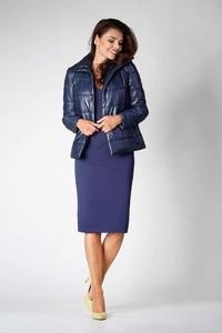 Niebieska kurtka Nommo w stylu casual krótka