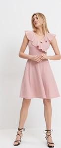 Sukienka Mohito mini z okrągłym dekoltem