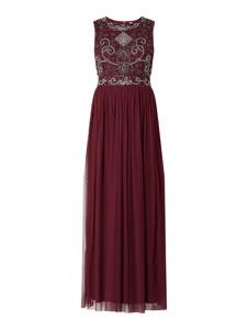 Sukienka Lace & Beads maxi bez rękawów
