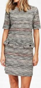 Sukienka Wallis z okrągłym dekoltem mini