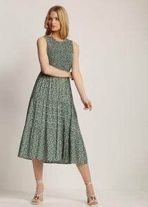 Zielona sukienka Renee midi