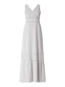 Sukienka Ralph Lauren maxi bez rękawów z dekoltem w kształcie litery v