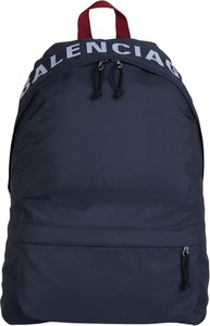 Granatowy plecak Balenciaga