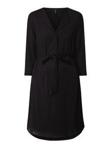 Czarna sukienka Vero Moda w stylu casual koszulowa mini