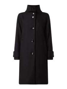 Czarny płaszcz Esprit z wełny
