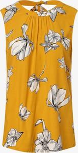 Żółta bluzka S.Oliver Black Label bez rękawów