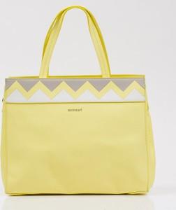 Żółta torebka Monnari duża