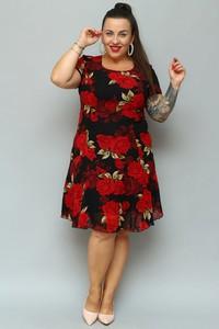 Sukienka KARKO z szyfonu mini