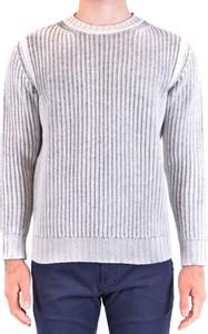 Sweter Kangra z wełny w stylu casual z okrągłym dekoltem