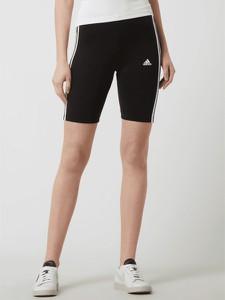 Czarne szorty Adidas Performance w sportowym stylu