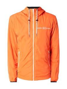 Pomarańczowa kurtka Diesel w młodzieżowym stylu