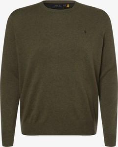 Sweter POLO RALPH LAUREN w stylu casual z dzianiny z okrągłym dekoltem