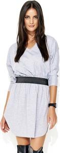 Sukienka Makadamia asymetryczna w stylu klasycznym mini