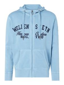 Niebieska bluza Wellensteyn