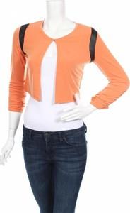 Pomarańczowy sweter Bleu D'azur