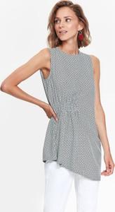 Bluzka Top Secret bez rękawów z okrągłym dekoltem w stylu casual