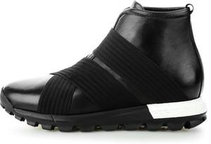 Czarne buty sportowe prima moda