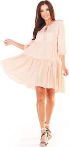 Sukienka Awama mini w stylu boho