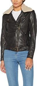 Czarna kurtka amazon.de w stylu casual krótka