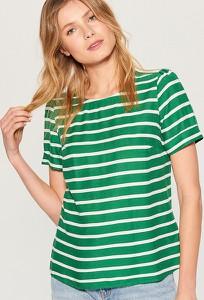 Zielony t-shirt Mohito z okrągłym dekoltem