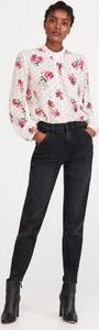 Bluzka Reserved z okrągłym dekoltem z długim rękawem w stylu boho