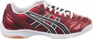 Czerwone buty sportowe ASICS sznurowane