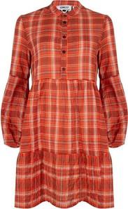 Pomarańczowa sukienka Iconic27