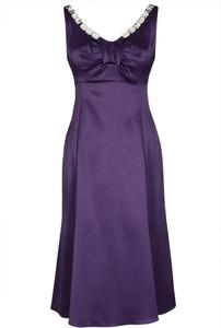 Sukienka Fokus z satyny na ramiączkach mini
