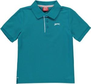 Błękitna koszulka dziecięca Slazenger