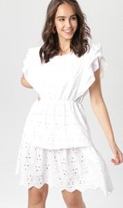 Sukienka born2be z krótkim rękawem rozkloszowana