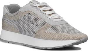 Sneakersy Pepe Jeans sznurowane na platformie