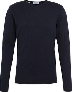 Niebieski sweter Selected w stylu casual